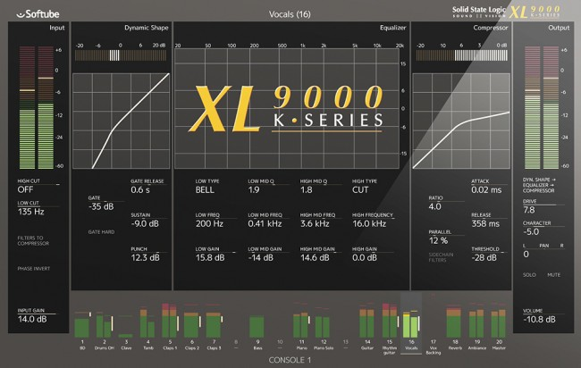 ▲Solid State Logic XL9000K