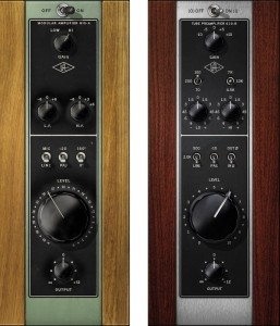 ▲UA 610 Tube Preamp Collection