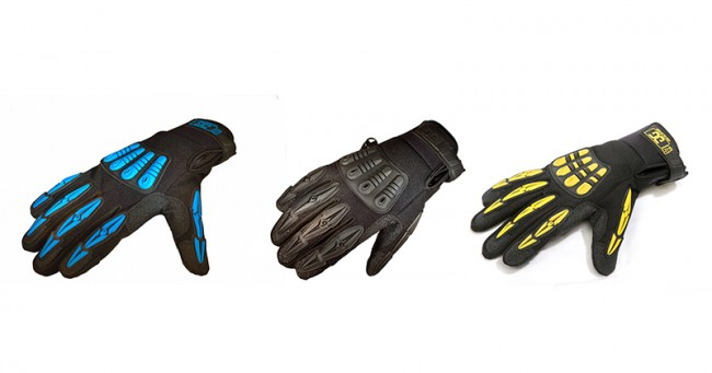 ▲(左から)THERMO Gig Gloves、Gig Gloves Onyx、Original Gig Gloves v2